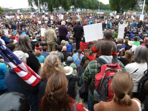 Images from Occupy Portland in spring 2012. Courtesy of Tod Sloan.