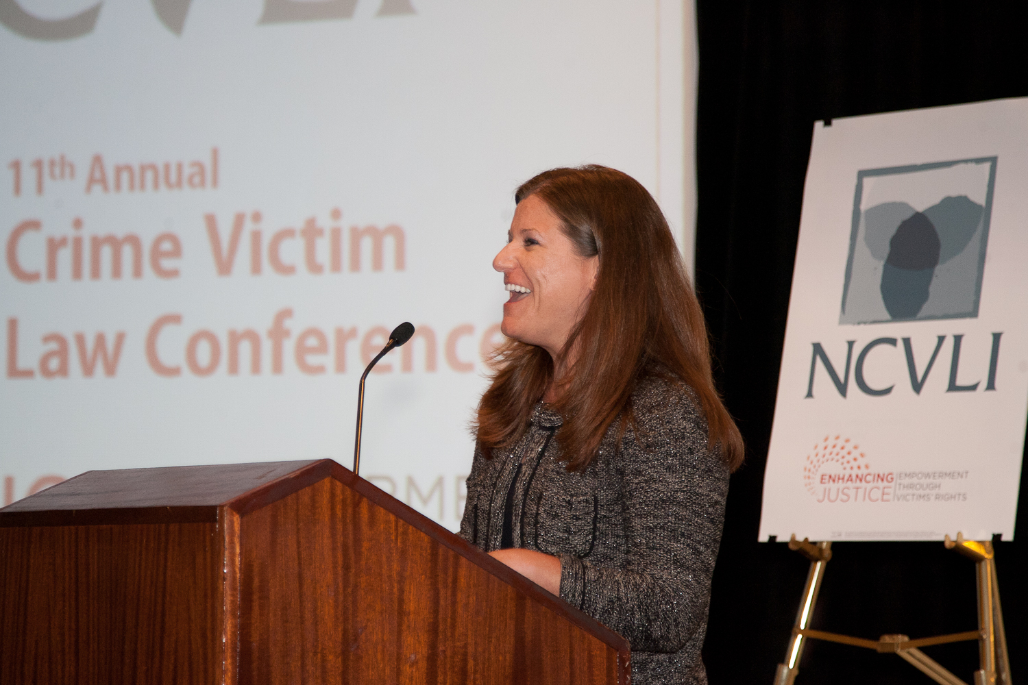 Jennifer Storm, author and executive director of the Victim/Witness Assistance Program in Harrisb...