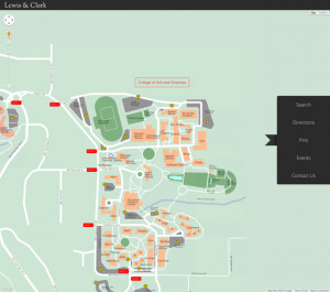 Visit maps.lclark.edu to see interactive campus map.