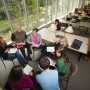 Graduate students spend plenty of time in other parts of campus, too, including in the Aubrey R. ...
