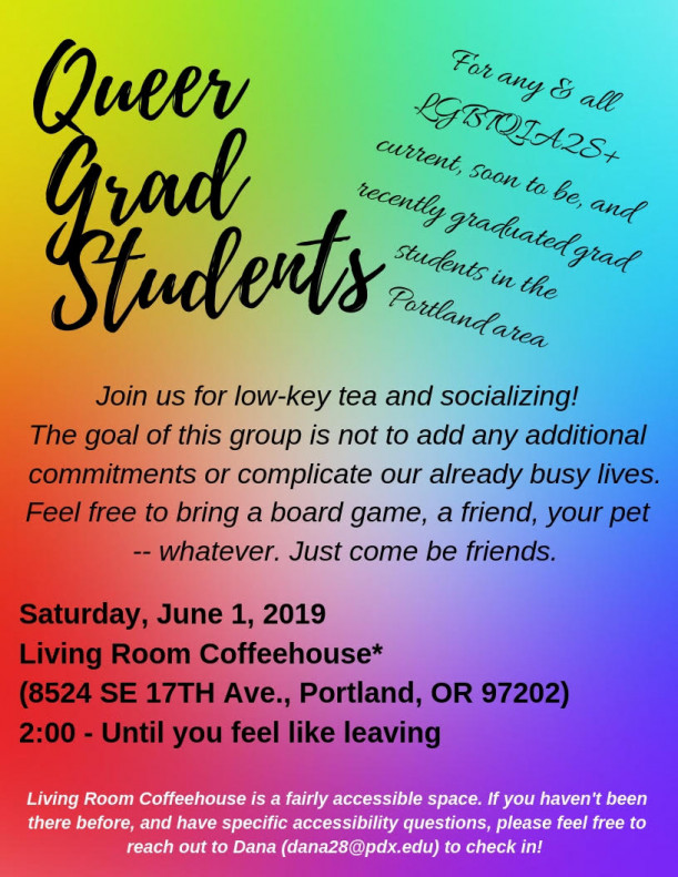 Queer graduate students social group