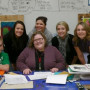 Janice Packard M.A.T. '94 with her students at Estacada High School.