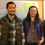 Trainee therapists Julio Iniguez, Carlie Finley, and Logan Cohen. Photo: Rebecca Koffman/Special ...